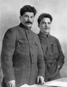 И.В. Сталин и С.М. Киров, 1926 год