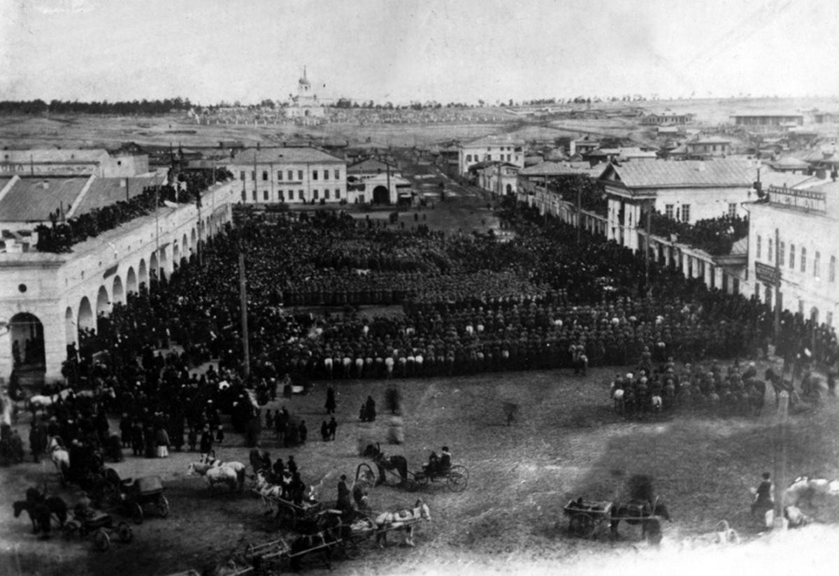 Город Верхнеудинск в 1919 году