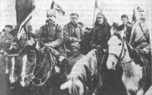 Партизанский отряд Шевелёва-Лубкова в селе Крапивино в 1919 году