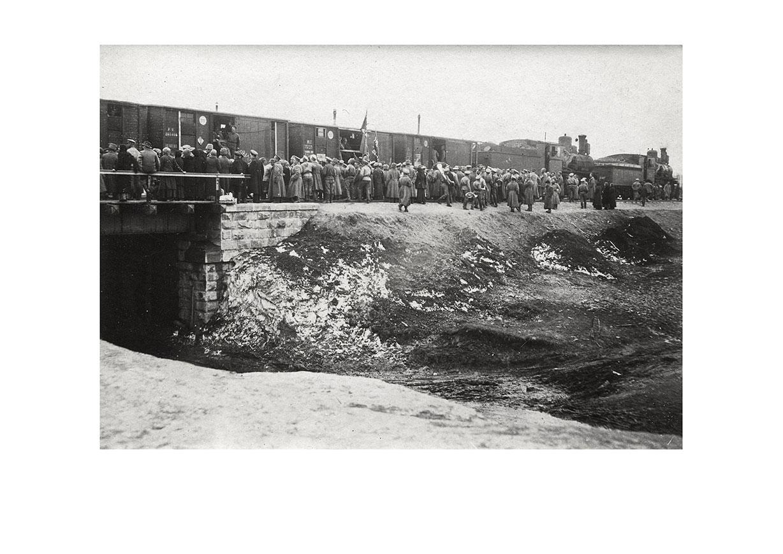 Томск. Проводы маршевых рот на фронт-4. Июль 1917 г.