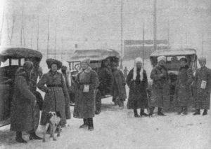 Штаб 27-й дивизии в Ново-Николаевске ожидает приезда вожака партизан Алтая Мамонтова