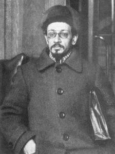 Яков Михайлович Свердлов — Председатель Всероссийского Центрального Исполнительного Комитета в ноябре 1917 — марте 1919 гг..