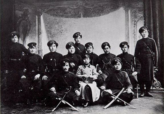 Бурятские казаки периода Первой мировой войны