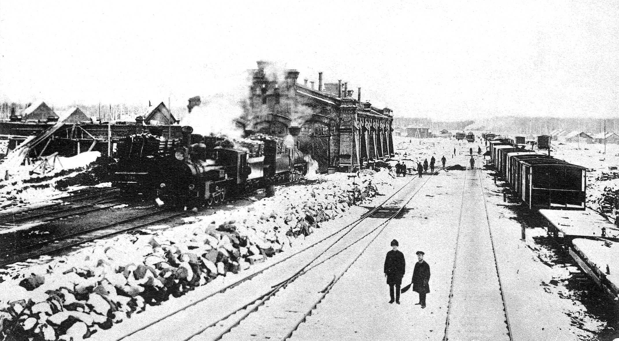 Станция Тайга. Конец 19 века Автор фото: И. Р. Томашкевич